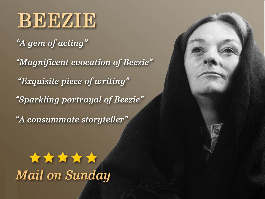 Sheila Flitton's one woman play 'Beezie'